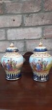 A Pair Of Victorian Ginger jars