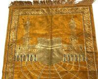 Isik Kadife Luxury Wall Tapestry Religious Temple Gold Turkey Light Star Decor