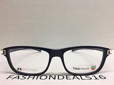 7d741611211 New Tag Heuer w TAGS 7605 Track S Blue Gray TH7605 003 56mm Optical  Eyeglasses