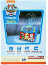 Paw Patrol Digital Alarm Clock with Night Light, Alarm Clocks for Kids Child Toy