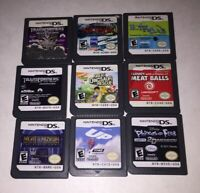 Nintendo DS Lot of 9 Games Transformers Narnia Phineas & Ferb Hotel for Dogs