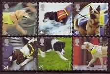 Gran Bretaña 2008 trabajo Perros Juego De 6 Fine Used