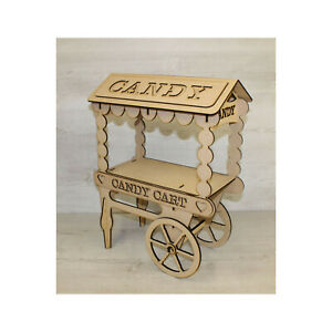 C18 CANDY CART SWEET HOLDER, DONUT WALL POST BOX SWEET TROLLEY
