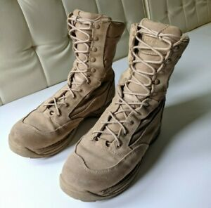 "Danner Mens Tan 26014 8"" Desert Rough-Out TFX Military Combat Boots Mens 11.5 D"