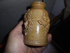 Ancien Petit Pot en Grès pour Herbes Fines Infusion Tisane Médecine Douce Thé