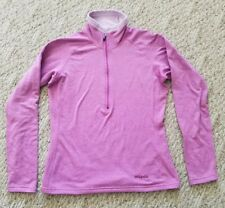 EUC WOMEN'S PATAGONIA REGULATOR 1/2 ZIP FLEECE PULLOVER COLOR PINK SIZE SMALL S