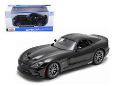 2013 Dodge Viper SRT GTS Black 1:24 Diecast Model - Maisto - 31271BK *