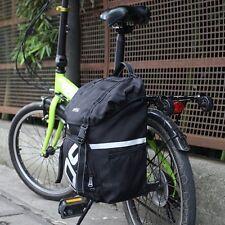 Waterproof Bike Rear Seat Tail Bag Bicycle Cycling Pannier Rack Trunk Handbag