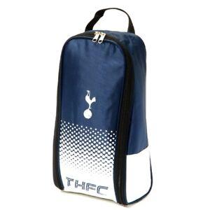 Tottenham Hotspur Official Bootbag Football Boots Gym Bag  Zipped School P.E Kit