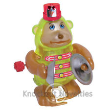 Monkey W/Cymbals Tucker Windup Wind Up Move Turn Gift Small Toy Stocking Stuffer