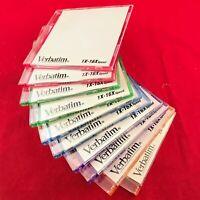 NEW ORIGINAL VERBATIM 80mm Pocket Mini CD-R Coloured Discs x10 - FREE POSTAGE!
