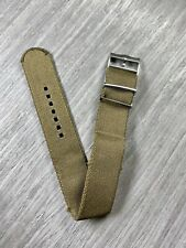 22mm Tudor Black Bay Aftermarket Nylon strap Band (Olive) - Non OEM