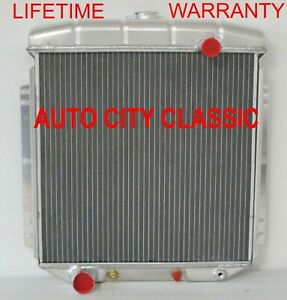 1954 1955 1956 Ford Radiator Aluminum Full Size Lifetime Warranty