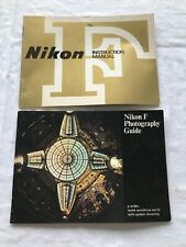 Vintage Nikon F Instruction Manual & Photography Guide