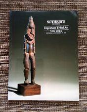 RARE 1991 Sotheby's Auction Catalog: Important Tribal Art, November 20, New York