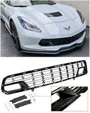 For 14-19 Corvette C7 No Camera | Z06 CARBON FLASH METALLIC Front Bumper Grille