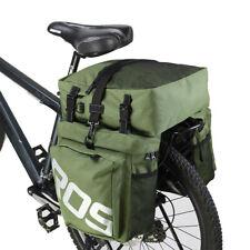 ROSWHEEL Bicycle Rear Pannier Bag Bike Rack Bag Road Bike Large Storage 35L 3in1