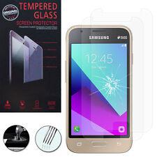 "2 Films Verre Trempe Protecteur Samsung Galaxy J1 Mini Prime (2016) 4.0"" J106F"