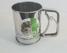 Fox Run 4653 - 3 Cup Sifter - Stainless Steel - NEW