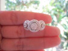 .93 Carat Diamond White Gold Ring 14k sep013