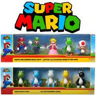 Super Mario Brothers Yoshi Multi Pack Exclusive 2.5-Inch Mini Figure 5-Pack