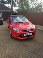 FORD FOCUS TURBO ECOBOOST 1.0L 2014 IN RED ** VERY LOW MILEAGE **