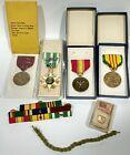 Vietnam Navy Medals, Ribbons, Pins, Battle Stars, Blousing Band