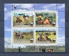 GUINEA BISSAU BLOCK ANIMALS 2008   MNH