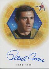 Star Trek 35th Anniversary Holofex Autograph Card A10 Paul Comi