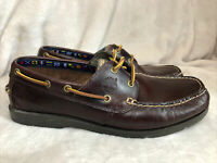 Timberland Earthkeepers Wah Bay Brown Loafer Boat Shoes Men's US 10.5 Great!