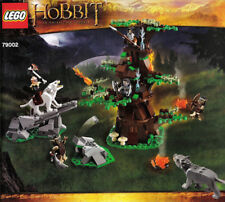 LEGO Attack of the Wargs LOTR Instruction Booklets Set 79002 NEW