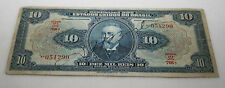 Foreign Currency Collection Notes Bills Old Paper Money 1925 Brazil Reis