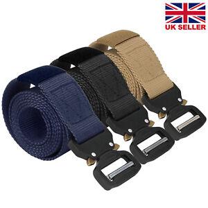 Quick Release Work Belt Tactical  Combat Army Nylon Buckle Waistbelt