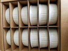 NEW Case of 12. lCorning Ware French White 708mL / 24 oz Round Casserole Dish