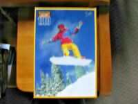 PUZZLE, 1999, KODACOLOR, SNOWBOARDING, ROSEART, 1000 PIECES, UNOPENED