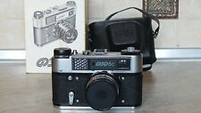 Vintage Soviet Russian FED 5C Camera Industar-61 l/d lens.