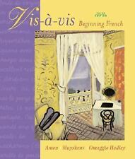 Vis-a-vis: Beginning French Student Edition Prepack, Excellent Books
