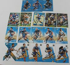 ~*~MIXED LOT OF 18 HANDSIGNED CARDS~*~GOLD COAST TITANS + COA