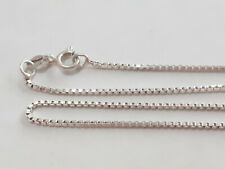 22 INCH STERLING SILVER NECKLACE
