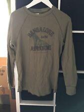 Old Navy Size Medium Green Waffle Long Sleeve T-shirt (K17)