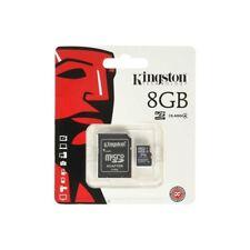 KINGSTON MICRO SDHC 8GB CLASSE 4 CON ADATTATORE SD INCLUSO