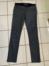 HELMUT Helmut Lang Dark Gray SEXY! Pull-On Stretch Skinny Pants Sz 27
