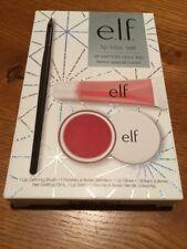 E.L.F Lip Kiss Set (Lip Defining Brush, Lip Gloss, & Lip Balm)