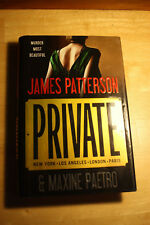 Private New York . Los Angeles . London . Paris by James Patterson & Maxine Paet