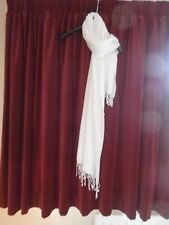 New ladies white scarf