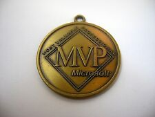 Rare Vintage Pendant Keychain: MICROSOFT MVP Most Valuable Professional
