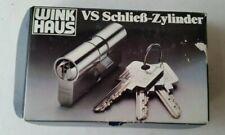 Winkhaus Schließzylinder VS 02 mit 24 Schlüsseln