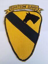 Vietnam Era 1st Cavalry Division Band SSI PatcH