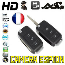 CLE DE VOITURE CAMERA ESPION 32 GO MAX VIDEO PHOTO SPY ESPION PRO PORTE CLES CAR