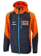KTM GIACCA IMPERMEABILE REPLICA TEAM 2017 HARDSHELL JACKET SIZE L 3PW1851104